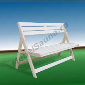 Раскладная скамья для сауны и бани