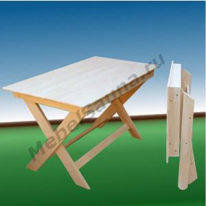 Стол раскладной для бани и сауны