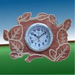 """Часы """"Листва"""" для бани и сауны"""