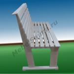 Наклонная скамья без подлокотников