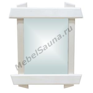 """""""Банное"""" зеркало без полки для бани и сауны"""