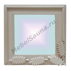 """Зеркало """"Рябинка"""" для бани и сауны"""