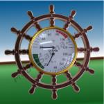 Термометр Штурвал для бани и сауны