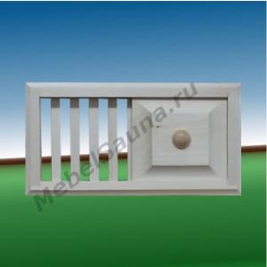 Вентиляцинная решетка для бани и сауны